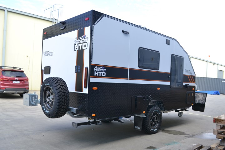 Caravan exterior